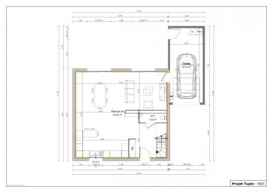 Maison+Terrain à vendre .(110 m²)(AMPUIS) avec (MAISONS AXIAL)