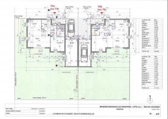Maison+Terrain à vendre .(104 m²)(SAINT GERMAIN SUR L'ARBRESLE) avec (MAISONS AXIAL)