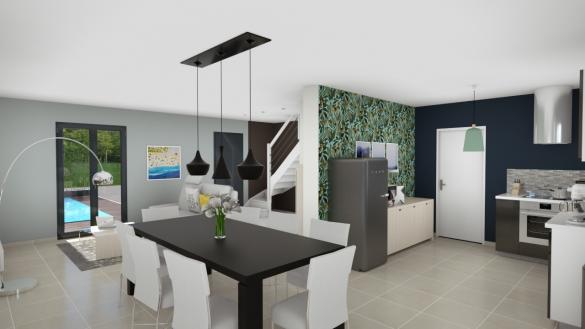 Maison+Terrain à vendre .(90 m²)(CRAPONNE) avec (MAISONS AXIAL)