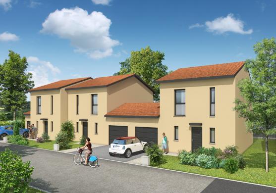 Maison+Terrain à vendre .(87 m²)(BOURG SAINT CHRISTOPHE) avec (MAISONS AXIAL)