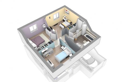 Maison+Terrain à vendre .(90 m²)(RANCE) avec (MAISONS AXIAL)