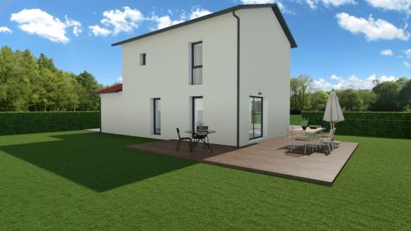 Maison+Terrain à vendre .(90 m²)(BELIGNEUX) avec (MAISONS AXIAL)