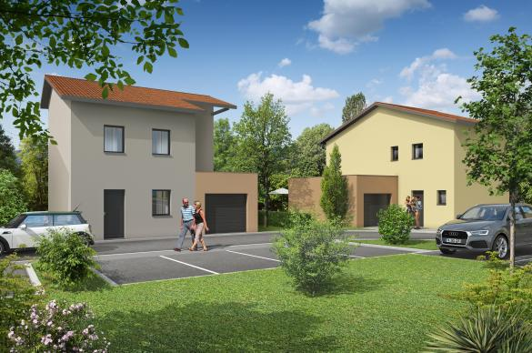 Maison+Terrain à vendre .(109 m²)(SAINT LAURENT D'AGNY) avec (MAISONS AXIAL)