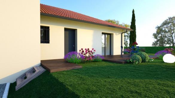 Maison+Terrain à vendre .(88 m²)(PIERRE CHATEL) avec (Maisons TIP TOP)