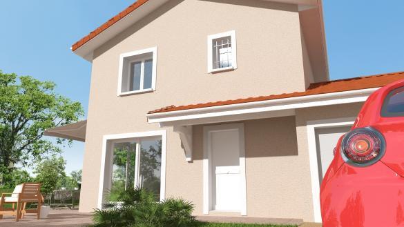 Maison+Terrain à vendre .(86 m²)(VOIRON) avec (Maisons TIP TOP)