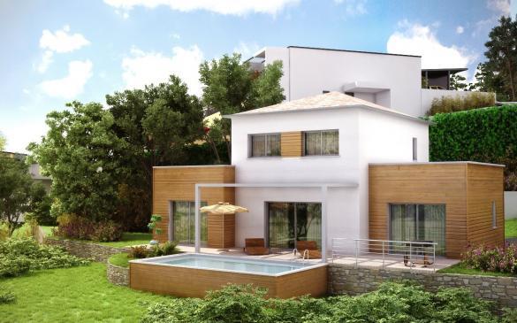 Maison+Terrain à vendre .(105 m²)(CHOMERAC) avec (ADIS)