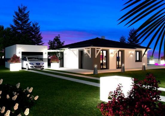 Maison à vendre .(95 m²)(CHOMERAC) avec (MAISON IDEALE 26)