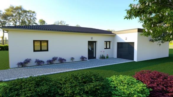 Maison à vendre .(101 m²)(VEYRAS) avec (MAISON IDEALE 26)