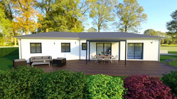 Maison à vendre .(105 m²)(LE TEIL) avec (MAISON IDEALE 26)