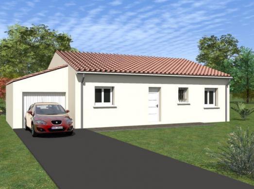 Maison à vendre .(90 m²)(LES TOURRETTES) avec (MAISON IDEALE 26)