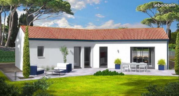 Maison à vendre .(90 m²)(CHAROLS) avec (MAISON IDEALE 26)