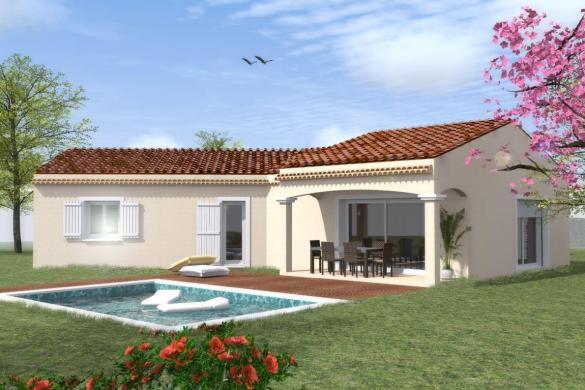 Maison à vendre .(101 m²)(SAUZET) avec (MAISON IDEALE 26)