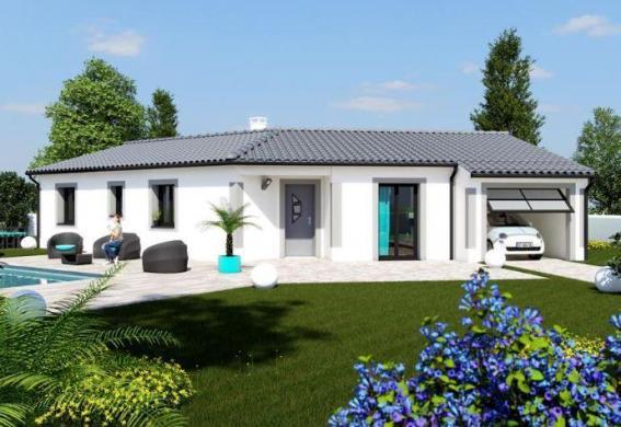 Maison à vendre .(100 m²)(SAUZET) avec (MAISON IDEALE 26)
