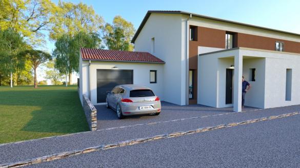Maison+Terrain à vendre .(102 m²)(NEYRON) avec (Maisons France Confort-maisons-france-confort)