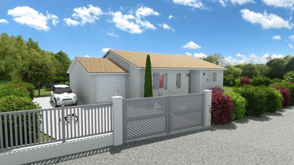 Maison+Terrain à vendre .(SAINT GALMIER) avec (MAISONS BATISEUL)