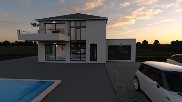 Maison+Terrain à vendre .(SAINT LAURENT DE MURE) avec (SOREL S A)