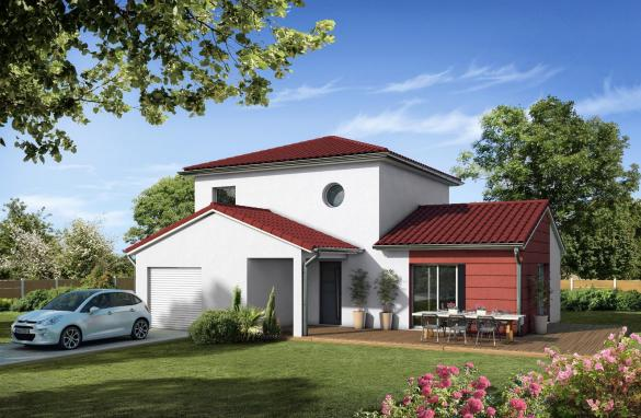 Terrain à vendre .(835 m²)(BILLOM) avec (MAISONS CLEDOR)