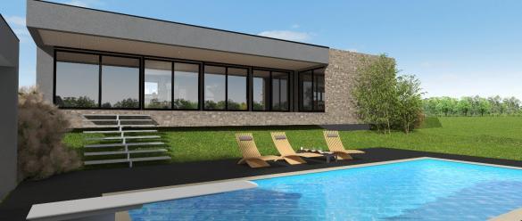 Terrain à vendre .(500 m²)(CEYRAT) avec (MAISONS CLEDOR)