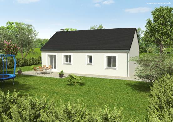 Maison à vendre .(76 m²)(GARNAY) avec (GROUPE DIOGO FERNANDES)