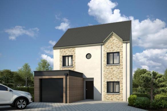 Maison+Terrain à vendre .(100 m²)(NOGENT LE ROI) avec (GROUPE DIOGO FERNANDES)
