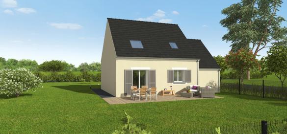 Maison+Terrain à vendre .(84 m²)(PUSSAY) avec (GROUPE DIOGO FERNANDES)