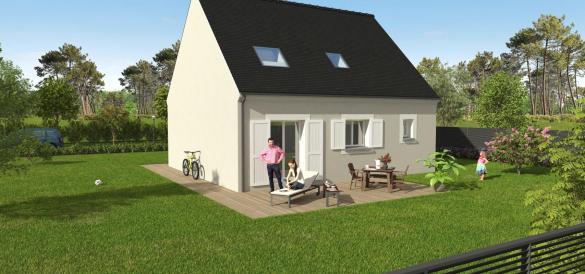 Maison+Terrain à vendre .(86 m²)(PUSSAY) avec (GROUPE DIOGO FERNANDES)