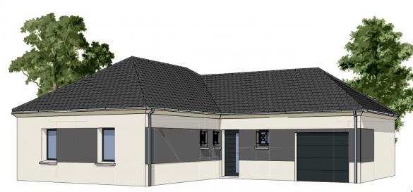 Maison+Terrain à vendre .(85 m²)(FAVEROLLES) avec (GROUPE DIOGO FERNANDES)