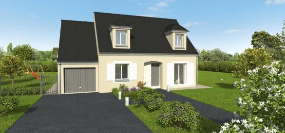 Maison+Terrain à vendre .(97 m²)(ROINVILLE) avec (GROUPE DIOGO FERNANDES)
