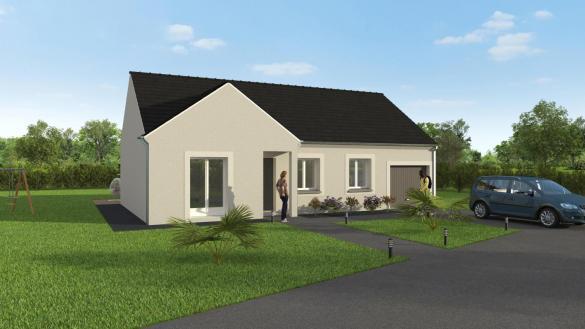 Maison+Terrain à vendre .(90 m²)(NERON) avec (GROUPE DIOGO FERNANDES)
