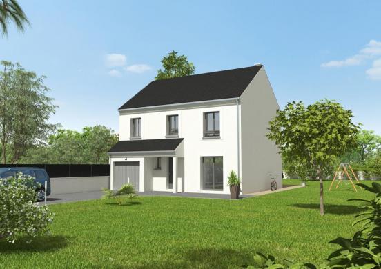 Maison+Terrain à vendre .(82 m²)(BOISSY SOUS SAINT YON) avec (GROUPE DIOGO FERNANDES)