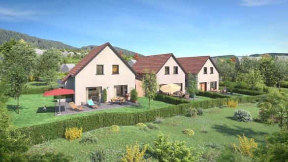 Maison+Terrain à vendre .(116 m²)(OTTROTT) avec (MAISONS OIKOS)