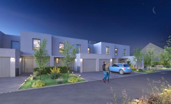 Maison+Terrain à vendre .(85 m²)(BRUMATH) avec (MAISONS OIKOS)