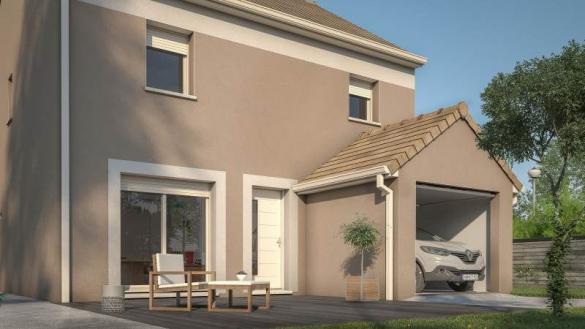Maison+Terrain à vendre .(83 m²)(CHAMBOIS) avec (MAISONS FRANCE CONFORT)