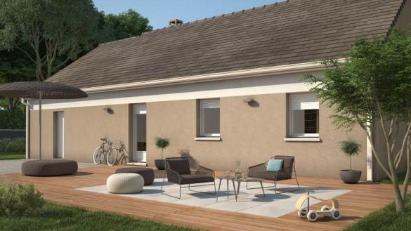 Maison+Terrain à vendre .(92 m²)(MESSEI) avec (MAISONS FRANCE CONFORT)