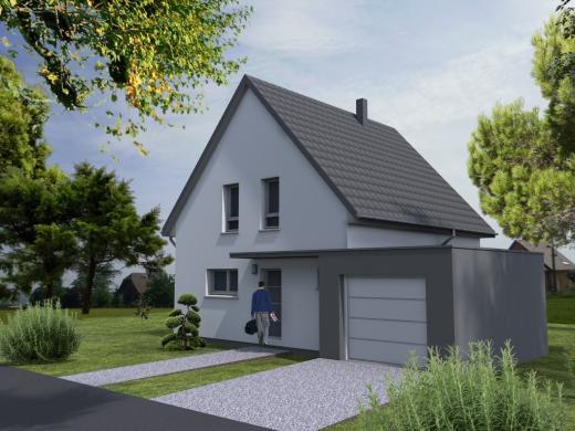 Maison à vendre .(110 m²)(MUNCHHOUSE) avec (LYCENE)