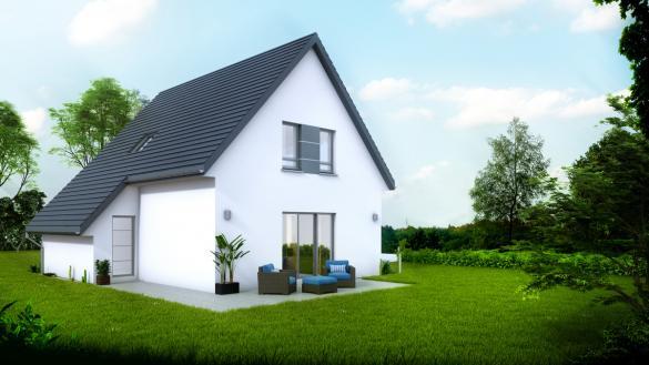Maison à vendre .(102 m²)(RUSTENHART) avec (LYCENE)