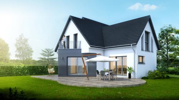 Maison à vendre .(152 m²)(HOCHSTATT) avec (LYCENE)