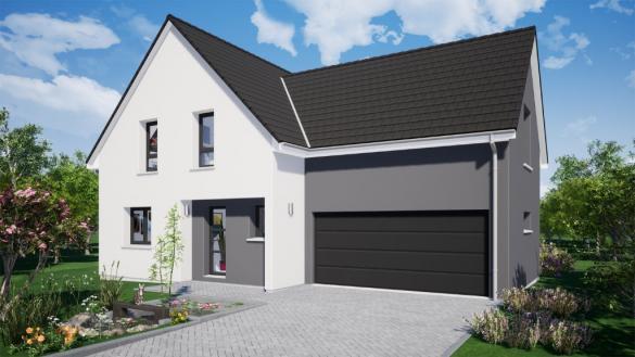Maison à vendre .(130 m²)(SIERENTZ) avec (EUROMAISONS)