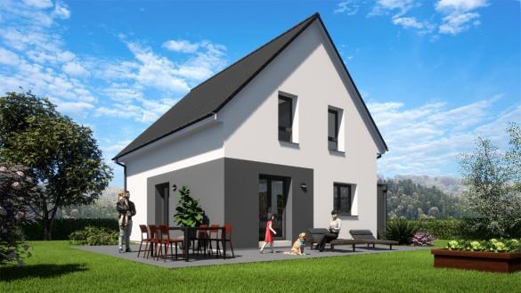 Maison à vendre .(100 m²)(UFFHEIM) avec (EUROMAISONS)