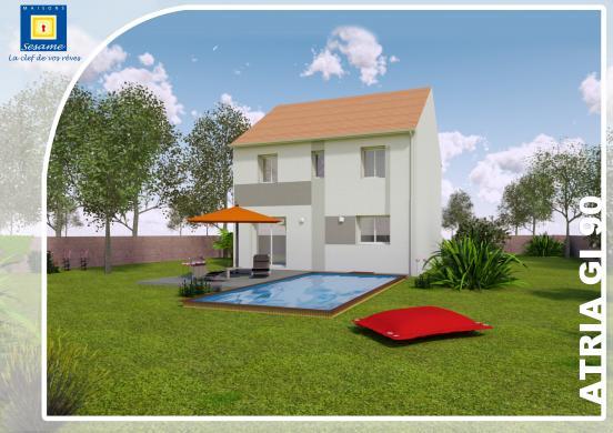 Terrain à vendre .(250 m²)(DOURDAN) avec (COFIDIM)