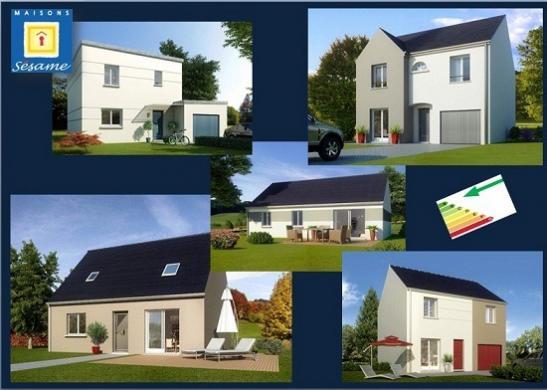 Maison+Terrain à vendre .(90 m²)(SAINT FARGEAU PONTHIERRY) avec (COFIDIM)