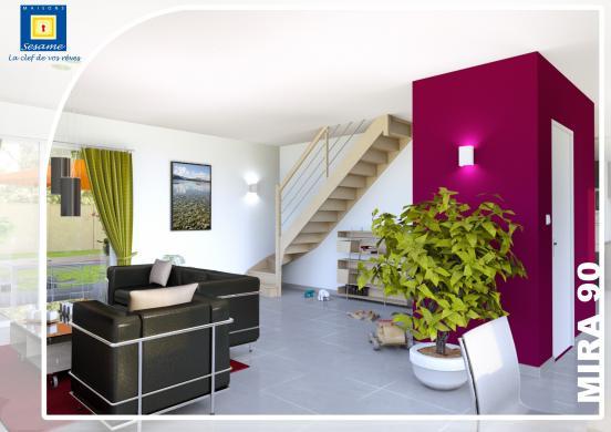 Maison+Terrain à vendre .(90 m²)(VILLENEUVE LE COMTE) avec (COFIDIM)