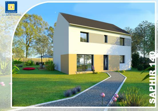 Maison+Terrain à vendre .(120 m²)(MAISSE) avec (COFIDIM)