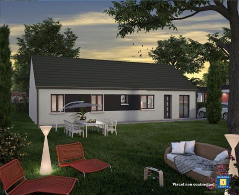 Maison+Terrain à vendre .(100 m²)(SAINT MAMMES) avec (COFIDIM)