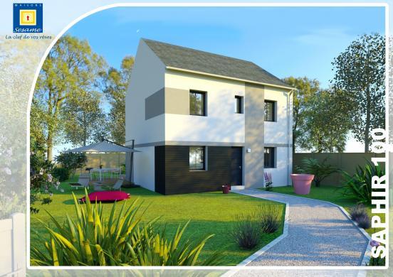 Maison+Terrain à vendre .(95 m²)(VILLEVAUDE) avec (COFIDIM)