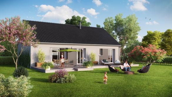 Maison+Terrain à vendre .(93 m²)(HOUPPEVILLE) avec (Maison Castor Rouen)