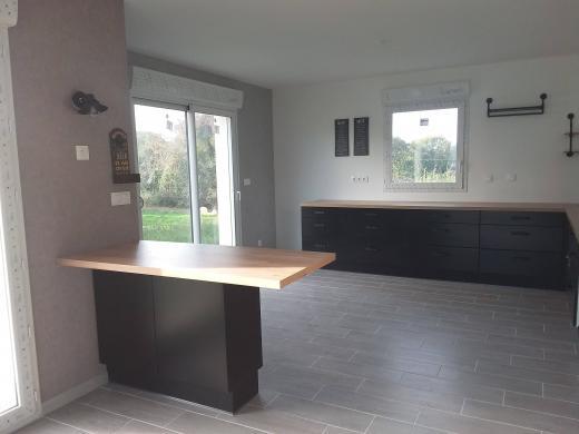 Maison+Terrain à vendre .(107 m²)(HOUPPEVILLE) avec (Maison Castor Rouen)
