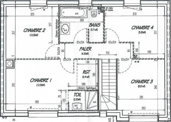 Maison+Terrain à vendre .(102 m²)(HOUPPEVILLE) avec (Maison Castor Rouen)