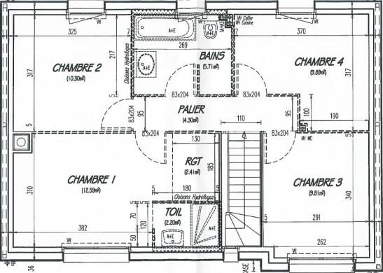 Maison+Terrain à vendre .(102 m²)(BUCHY) avec (Maison Castor Rouen)