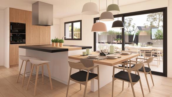 Maison+Terrain à vendre .(96 m²)(FONTAINE LE BOURG) avec (Maison Castor Rouen)